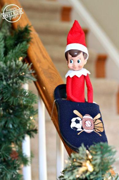 Elf on the Shelf Ideas Slipper