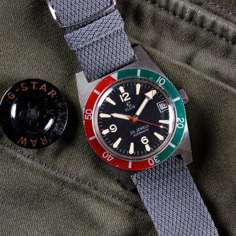 vintage skin diver watch