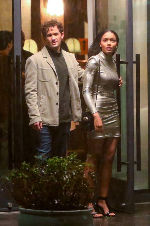 celebrity sightings in new york   november 05, 2020