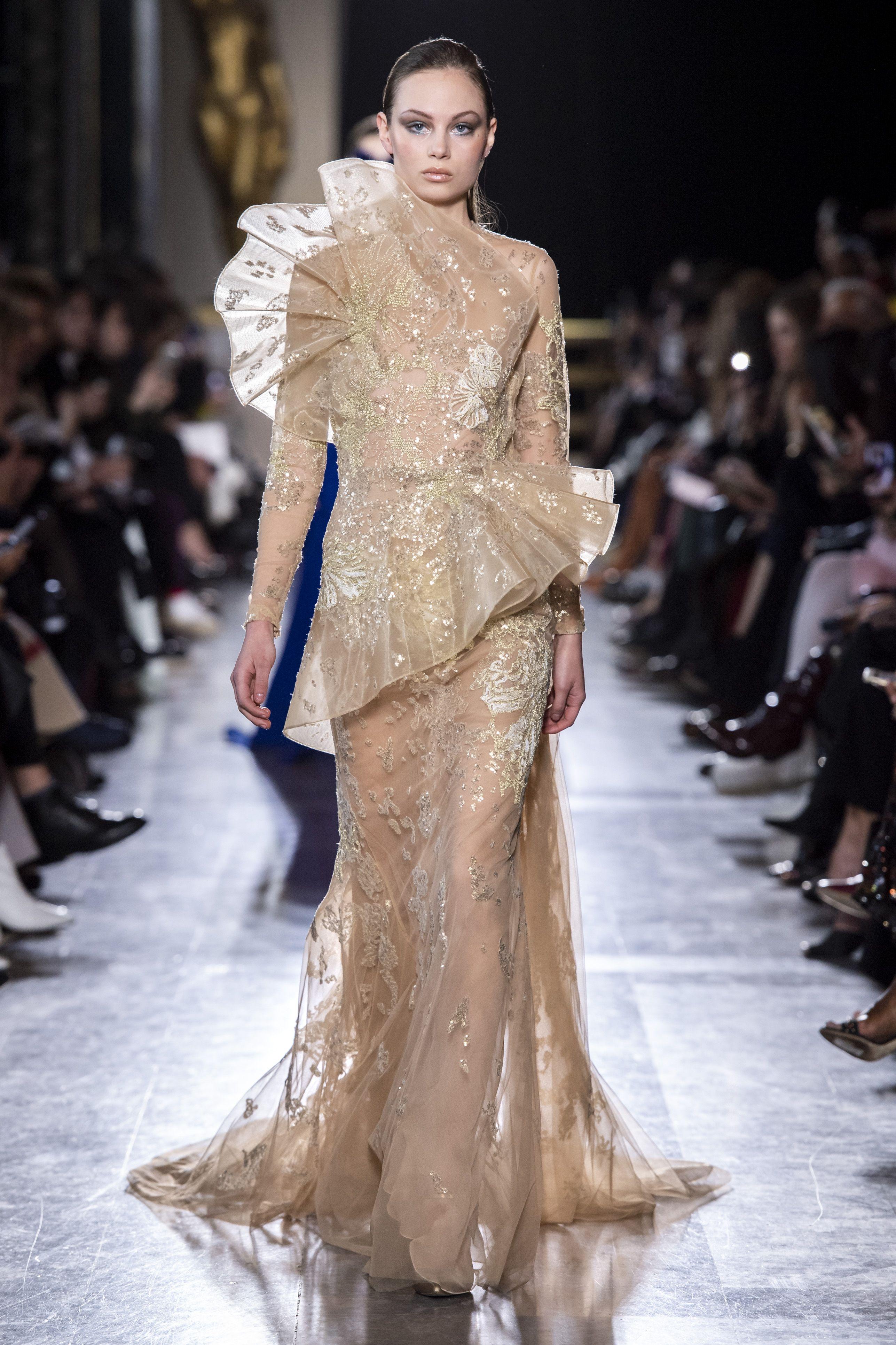 haute couture wedding dress ss19