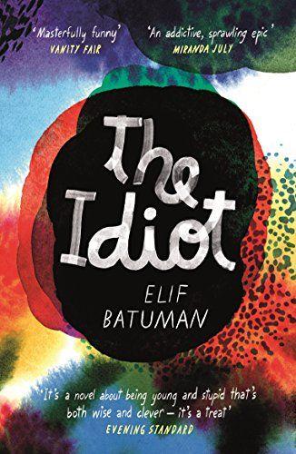 the idiot by elif batuman book jacket
