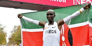 ATHLETICS-MARATHON-AUSTRIA-KENYA