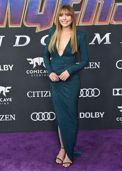 《復仇者聯盟》緋紅女巫:伊莉莎白歐森Elizabeth Olsen 穿搭