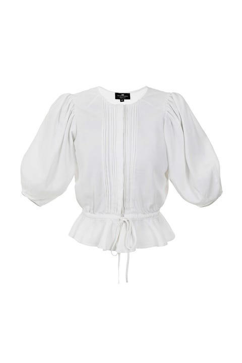 Clothing, White, Sleeve, Outerwear, Blouse, Top, Shirt, T-shirt,