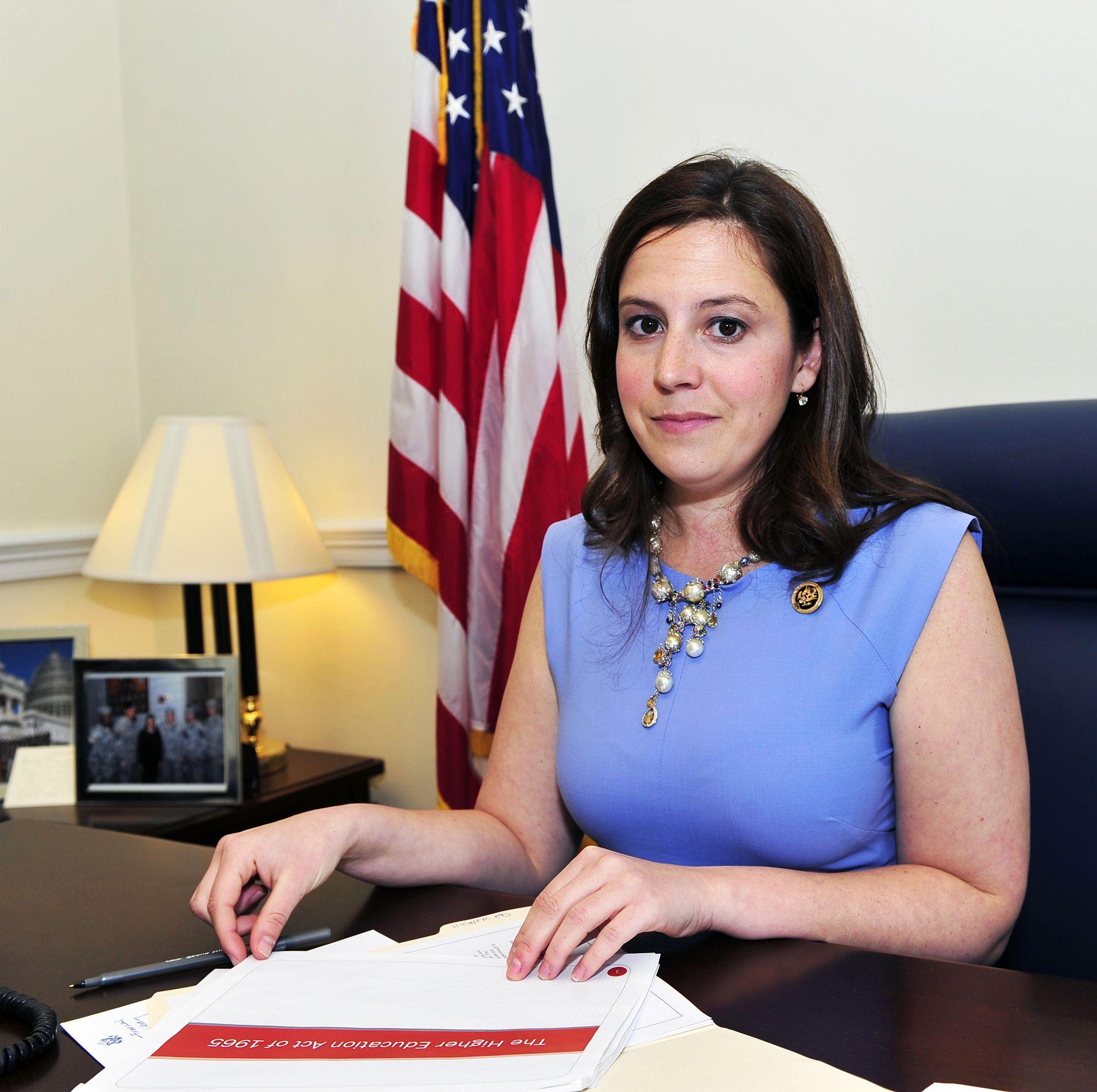 Elise M. Stefanik Photoshoot, Cannon House Office Building, Washington, D.C., America - 13 Apr 2015