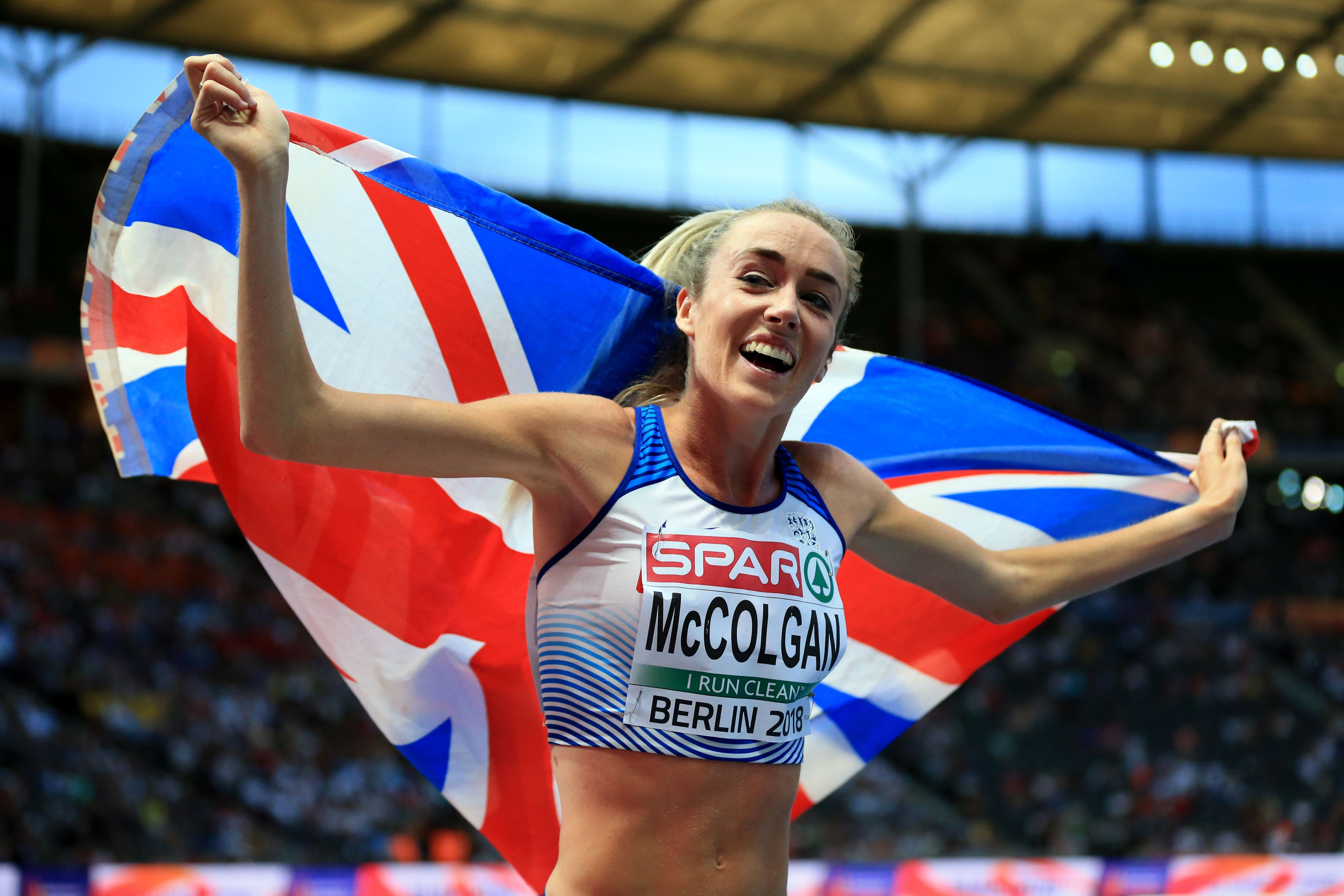 Olympian Eilish McColgan hits out at body-shamers who called her 'too skinny'