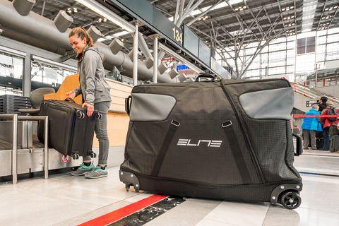 Baggage, Hand luggage, Luggage and bags, Suitcase, Vehicle, Floor, Travel, Wheel, Bag,