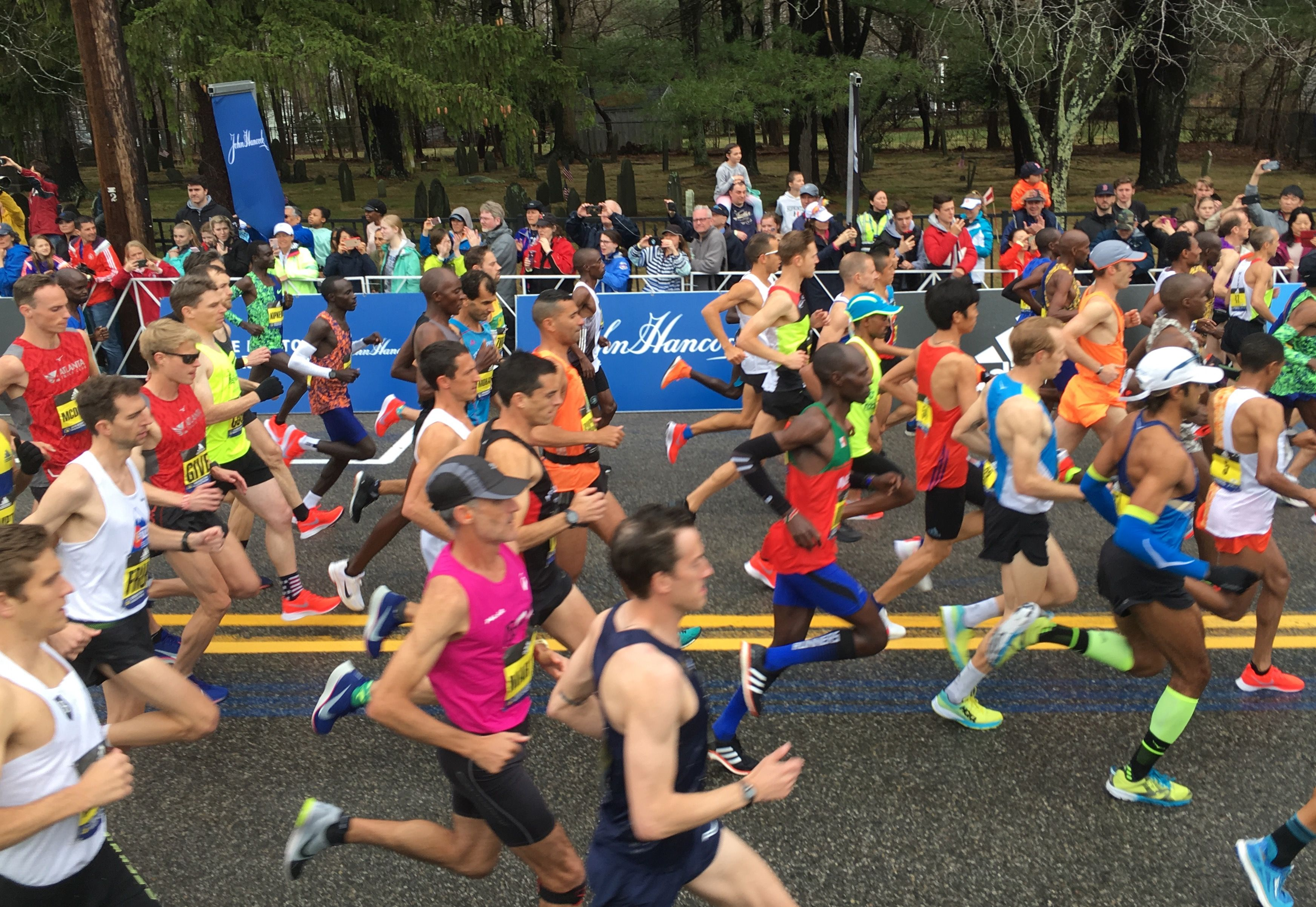 Here's how fast you had to be to get into the 2020 Boston Marathon