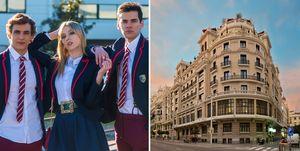 Serie 'Élite' de Netflix/Hotel The Principal Madrid