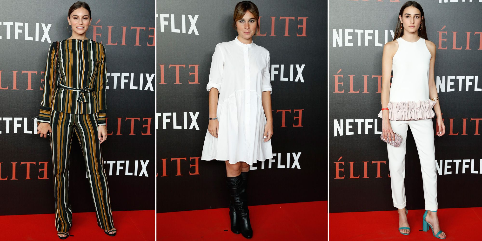 Los mejores looks del estreno de la serie de Netflix 'Élite'