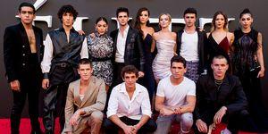 elite segunda temporada actores personajes