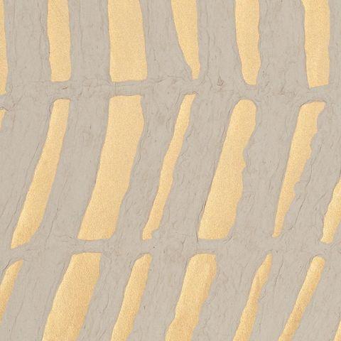 papel pintado con trazos dorados
