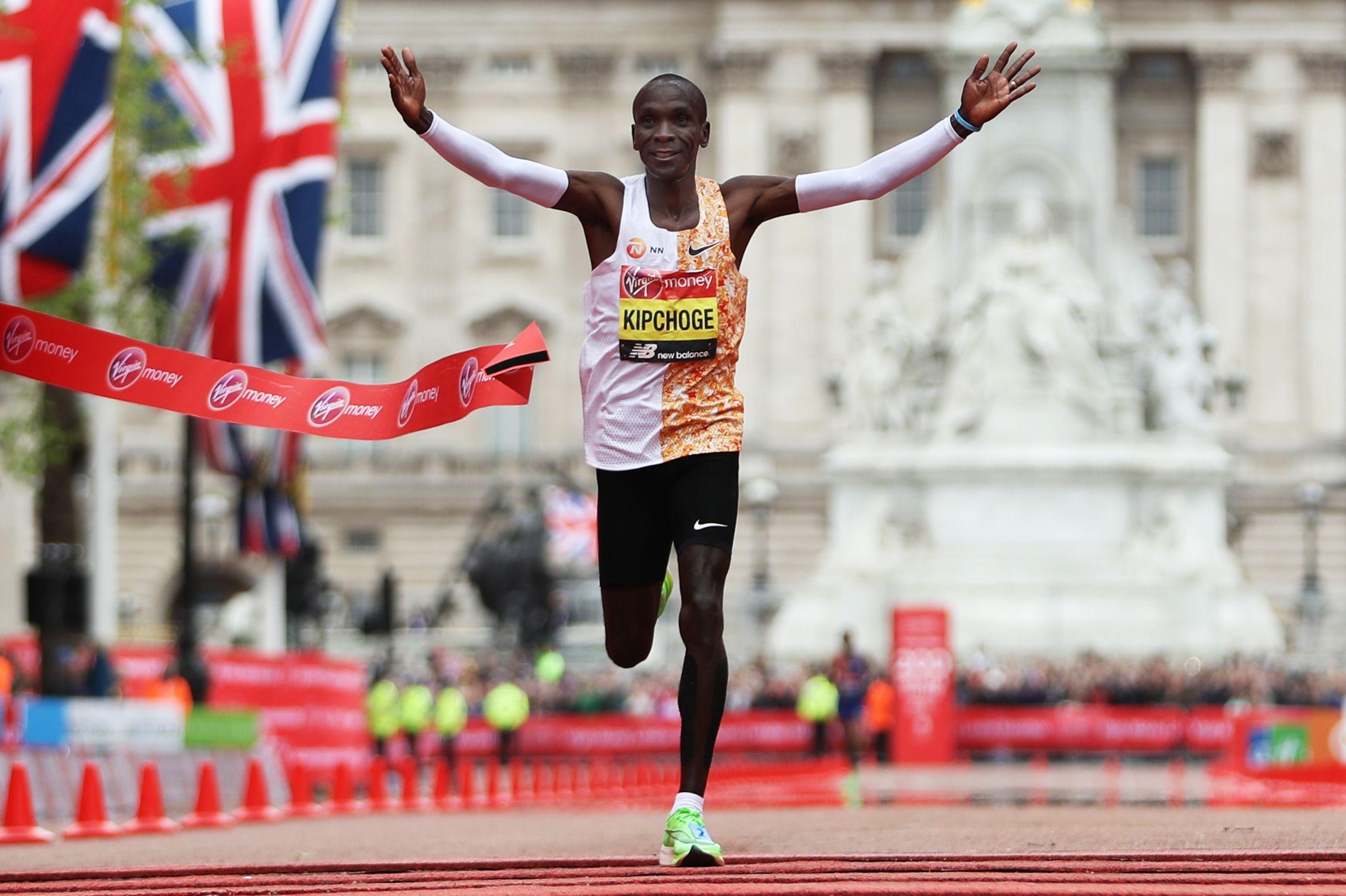 """I want to run a course record"" says Kipchoge, as he confirms London Marathon 2020 run"