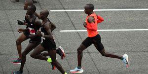 Eliud Kipchoge correrá cinco maratones a la semana para Viena