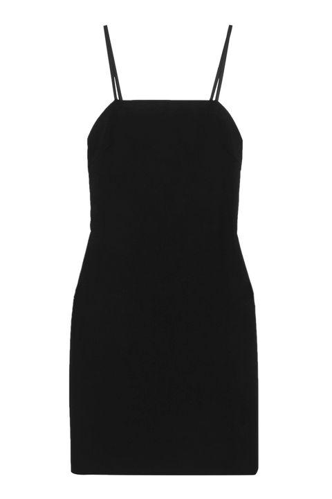 Clothing, Dress, Black, Little black dress, Cocktail dress, Neck, Sheath dress, Day dress,