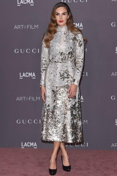 ae43e459 20 celebrities wearing sequins 2017 – Best sequin dress inspiration