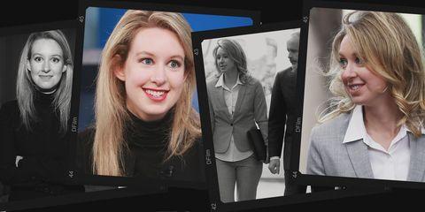 Inside Newlywed Elizabeth Holmes's Courtroom Style Strategy