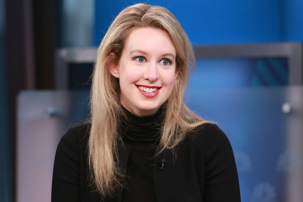 Elizabeth Holmes and Her Fiancé, Billy Evans, Have Reportedly Sent Out Wedding Invites