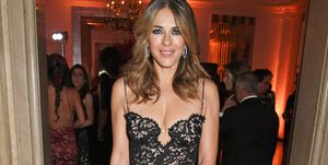 Elizabeth Hurley at the BOVET 1822 Presents Brilliant Is Beautiful Gala Benefitting Artists For Peace & Justice