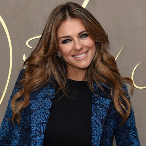 Elizabeth Hurley's Abs Look Incredibly Toned in This Stunning Pink Bikini Photo