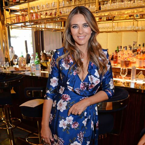 Elizabeth Hurley Hosts World's Biggest Coffee Morning In Support Of Macmillan Cancer Support