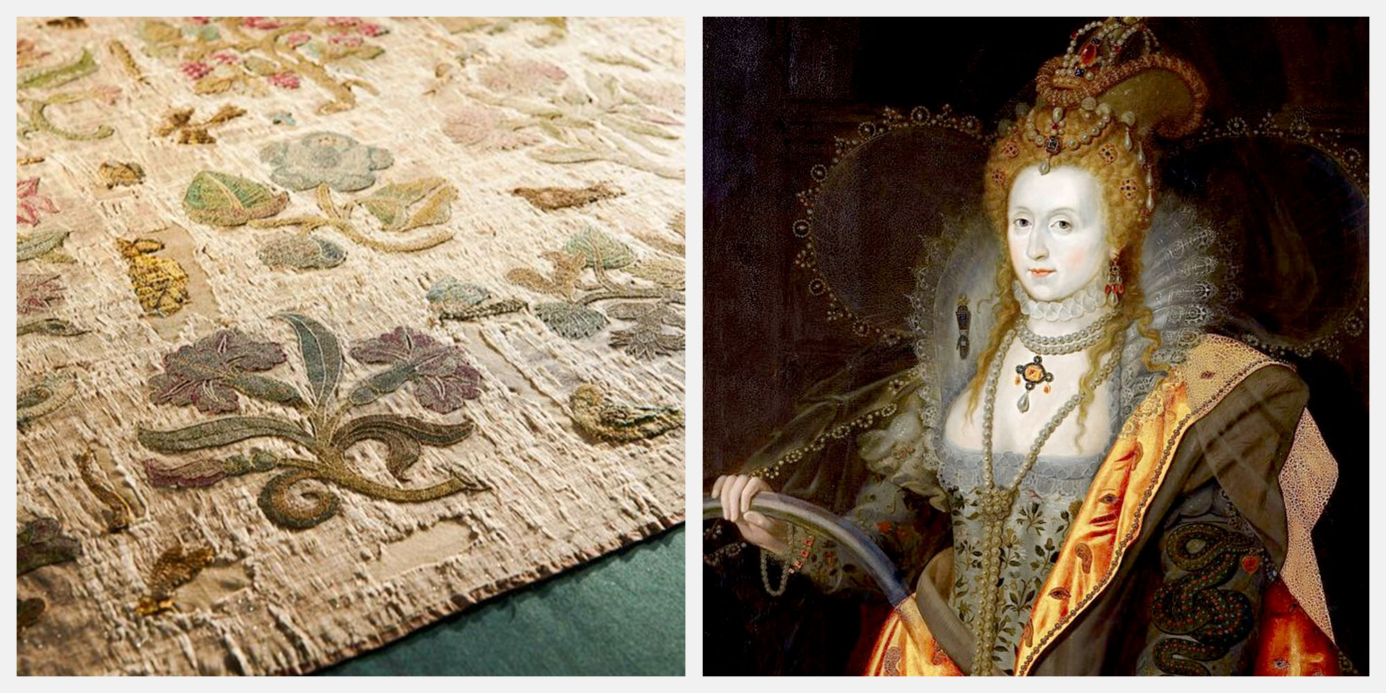 How Queen Elizabeth I's Only Surviving Dress Was Discovered in a Rural Church