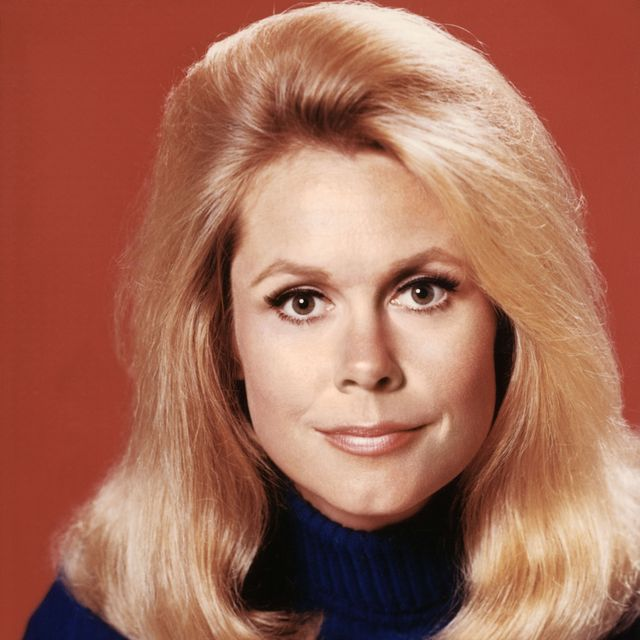 headshot of elizabeth montgomery 1933 1995, us actress, in a publicity portrait issued for the us television series, bewitched, usa, circa 1968 the sitcom starred montgomery as samantha stephens photo by silver screen collectiongetty images
