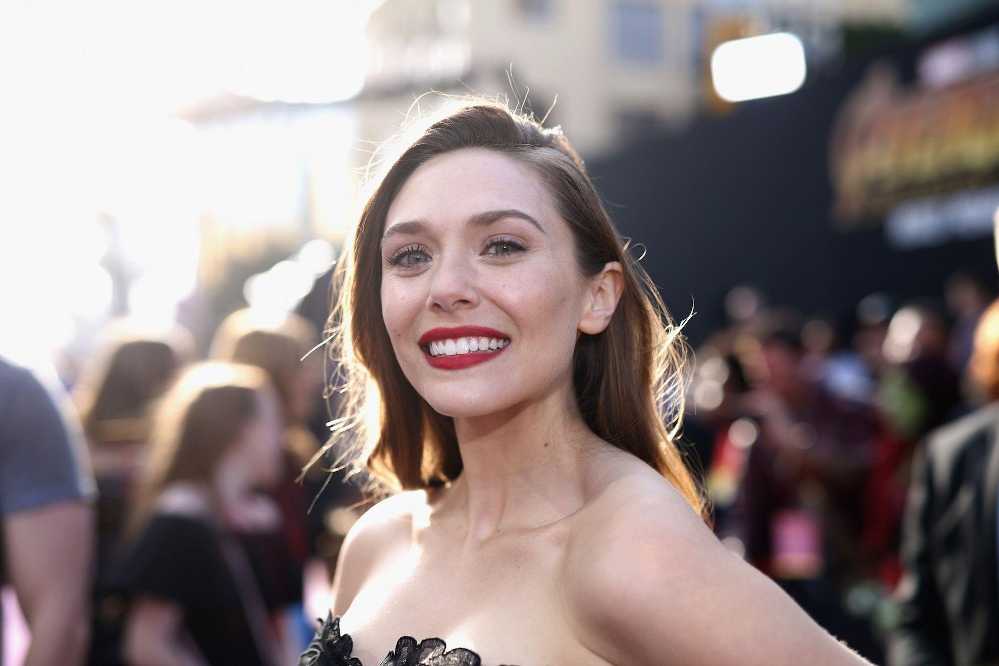 Elizabeth Olsen cute