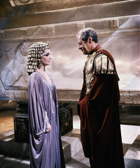 Liz Taylor and Rex Harrison in Cleopatra