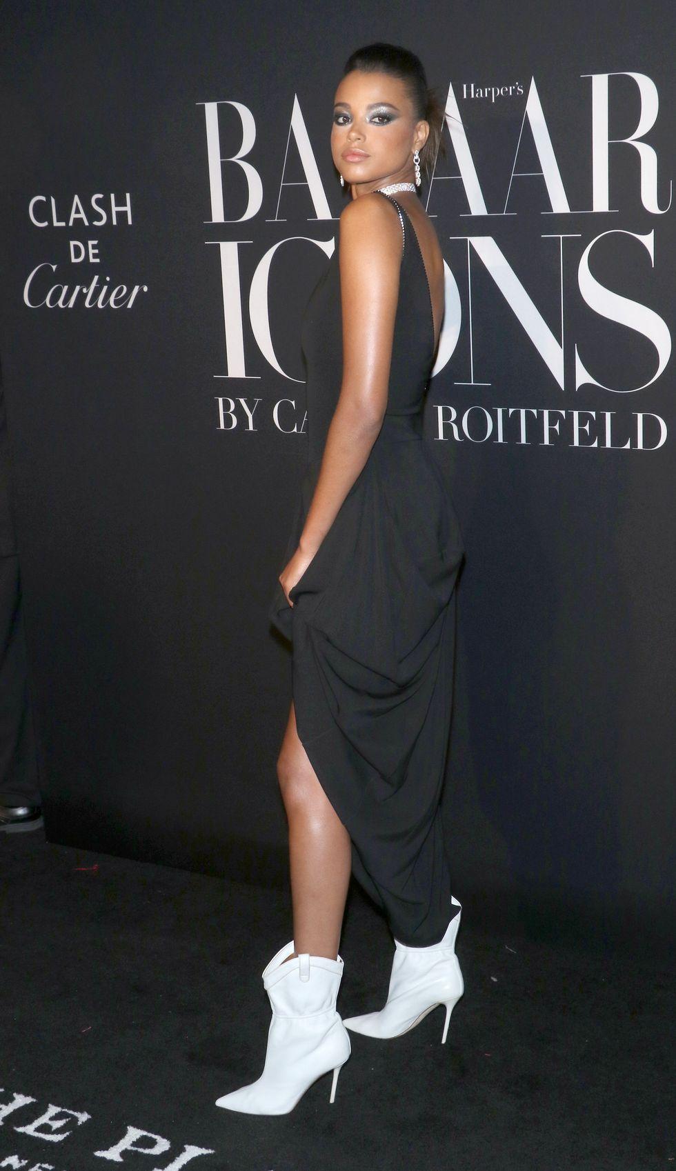 Ella Balinska wearing Cartier jewelry