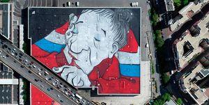 Ella & Pitr rompen su propio récord con el mural más grande del mundo
