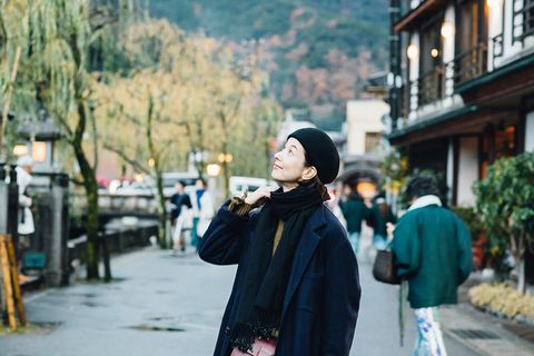 Photograph, People, Snapshot, Town, Street fashion, Street, Tourism, Travel, Headgear, Tree,