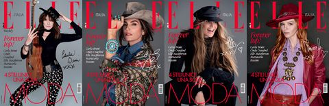 Magazine, Fashion, Design, Headgear, Font, Album cover, Advertising, Hat, Photography, Fashion accessory,