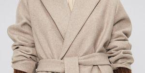 abrigo camel beige tendencia zara barato