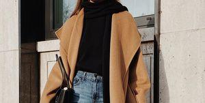 looks abrigo pantalon botines instagramer look basico
