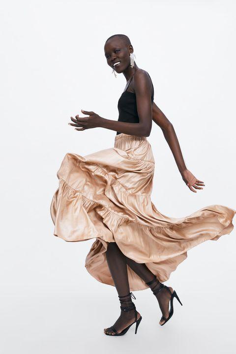 54749d531 Alba Díaz y el truco para que esta falda larga de Zara siente de fábula