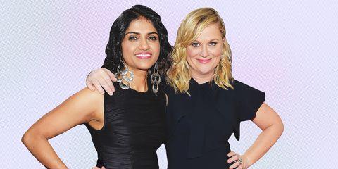 Amy Poehler and Saru Jayaraman