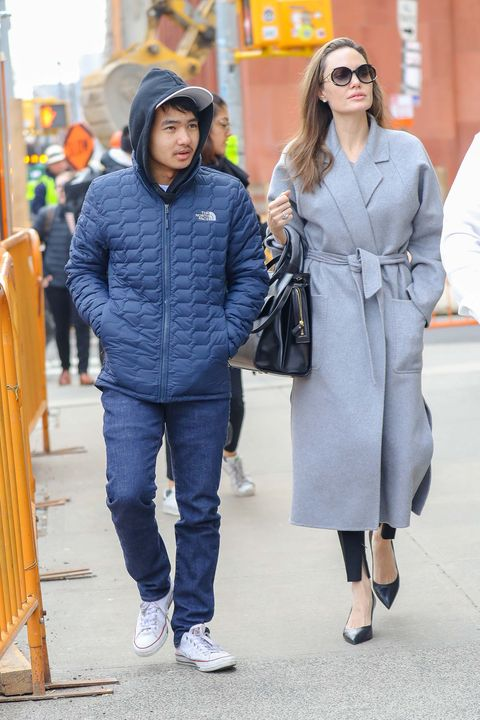 Angelina Jolie Brad Pitt hijos Maddox
