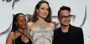 Angelina Jolie hijos Maddox Zahara