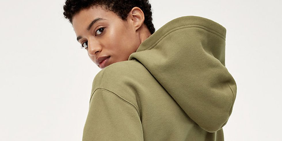 This Non-Schlubby Hoodie is Made for Adults