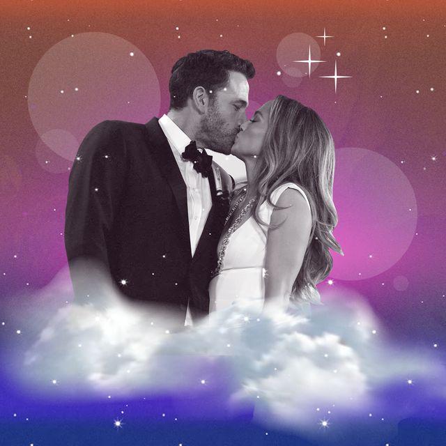 ben affleck and jennifer lopez kissing