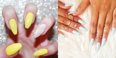 9 Ways To Wear Ballerina Shaped Nails