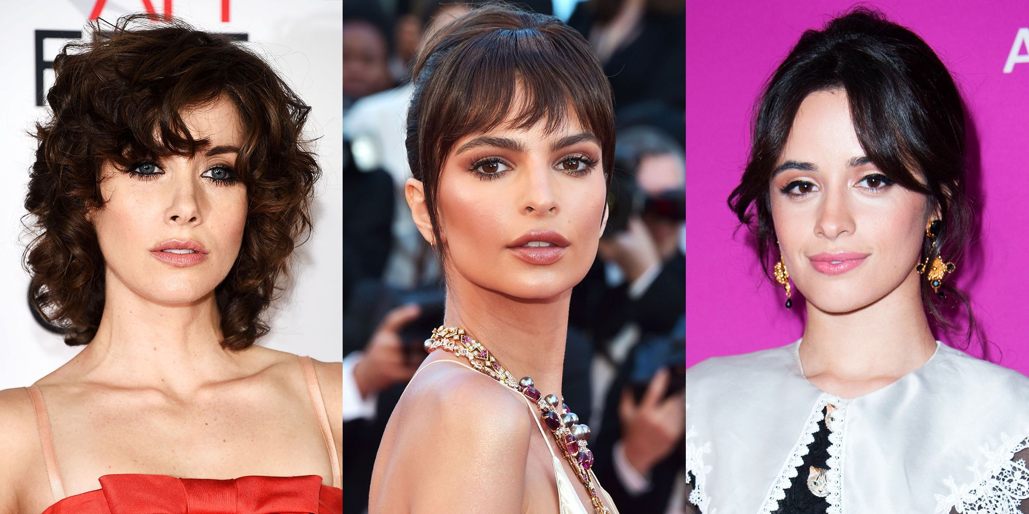 112 Hairstyles With Bangs You\u0027ll Want to Copy , Celebrity