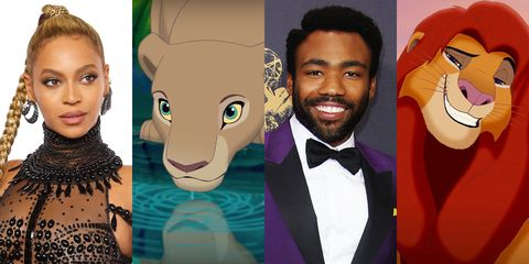 Every Part Thats Been Cast In The Live Action Lion King