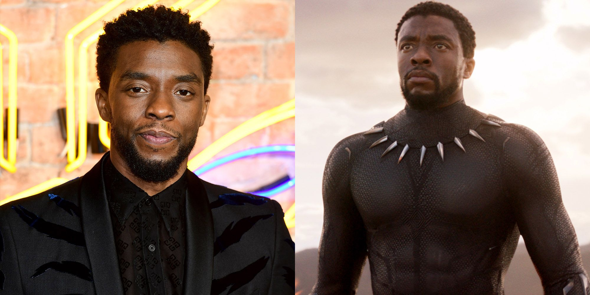 Chadwick Boseman as T'Challa Black Panther