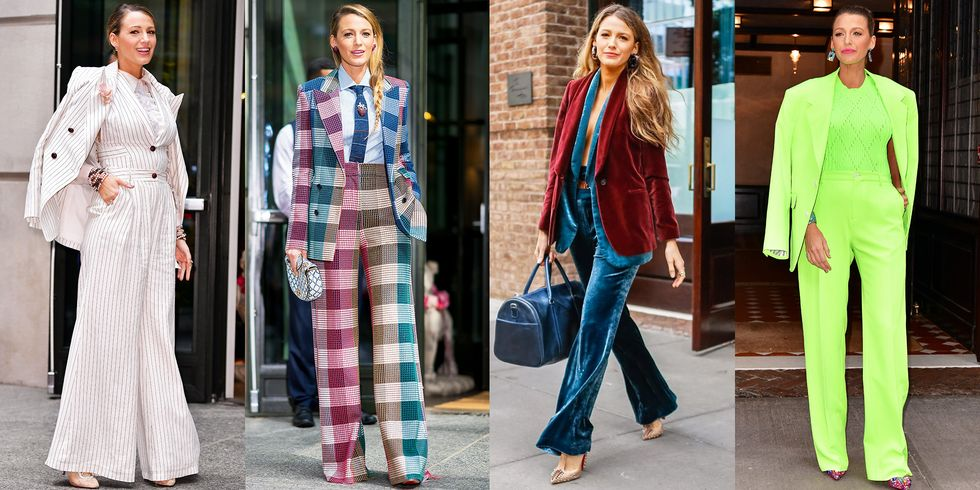 Blake Lively Sure Is Wearing a Lot of Lively Suits