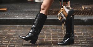 shoppingbotas y botines cómodos para looks de Navidad con tacón sensato de Berhska, H&M, Zara, Uterqüe, Mango, Massimo Dutti y Sfera