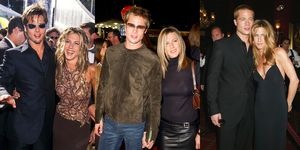 Brad and Jen Through the Years