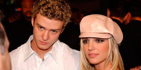Britney Spears y Justin Timberlake cuando eran pareja