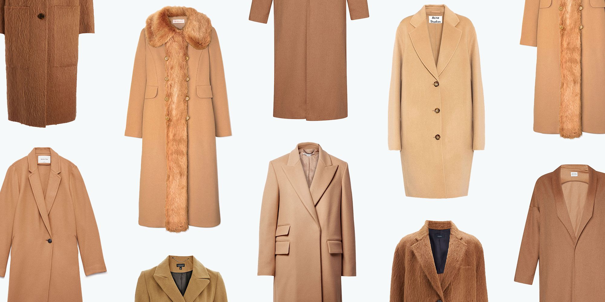 10 camel coats you ll own forever camel colored outerwear